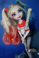 Harley and her bat